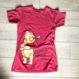 Disney Winnie the Pooh honey bee graphic t shirt